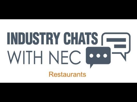 | NEC Display Solutions|Restaurant Solutions Industry Chat