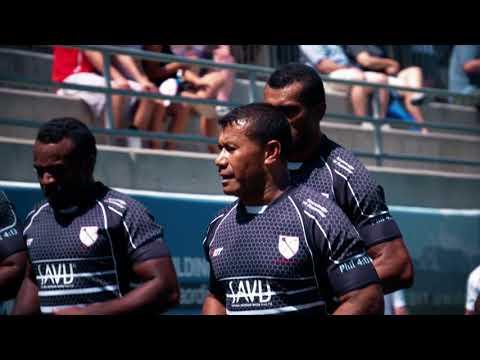 2017 RugbyTown 7s Champions: Fiji Savu Water