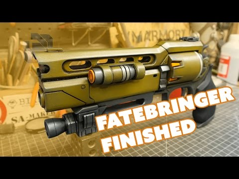 Building the ZProps Fatebringer Kit Part 3: Painting - Prop: Live from the Shop