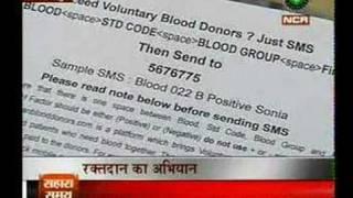 www.indianblooddonors.com Sahara Samay NCR