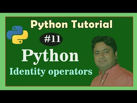 identity operator Python - Python Tutorial in Hindi - Learn Operators in Python thumbnail