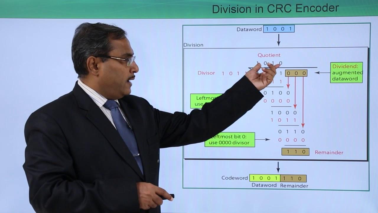 Error Detection with CRC Modulo