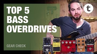 Top 5 | Bass Overdrives | Demo