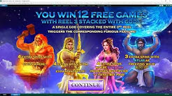 Age of the Gods: Furious Four (Feature + Mega Big Win)
