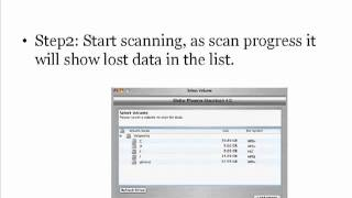 How OS X data recovery software works?
