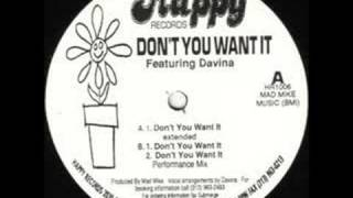 Davina - Don't You Want It (Extended)