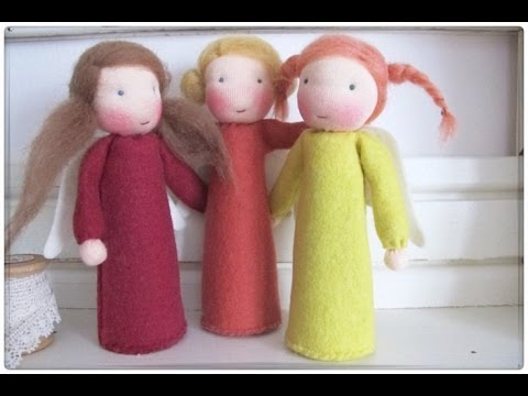 cute handmade angels christmas ornaments and decorations - Handmade Angels Christmas Decorations