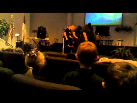 """Mulberry Christian academy doing """"set me free"""""""