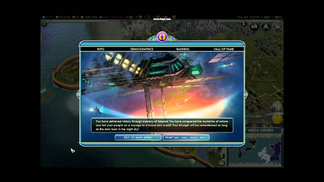how to get science victory civ 5