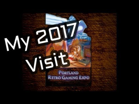 My visit to the 2017 Portland Retro Gaming Expo (PRGE)