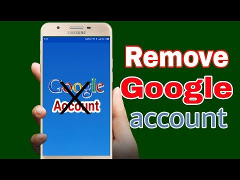 How to Remove Google Account On Android
