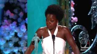 SAG Awards Viola Davis gives moving victory speech