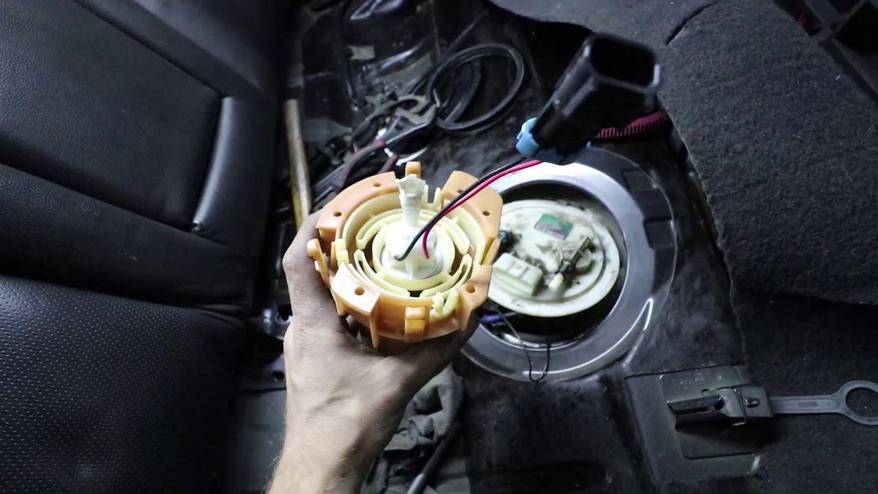 Sistema combustible, alimentación y retorno de aceite al turbo