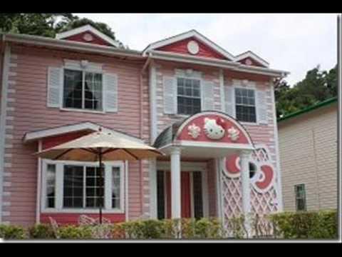 Hello Kitty Houses Real Houses hello kitty hotel taiwain - youtube