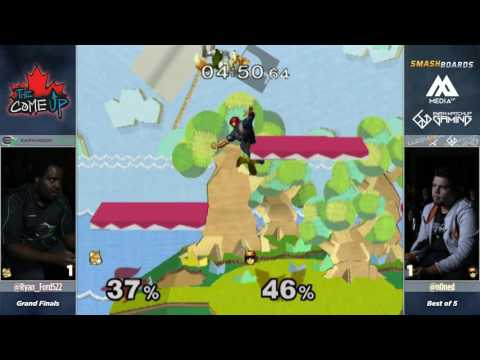 n0ne vs Ryan Ford - The Come Up 2017 - Melee Grand Finals