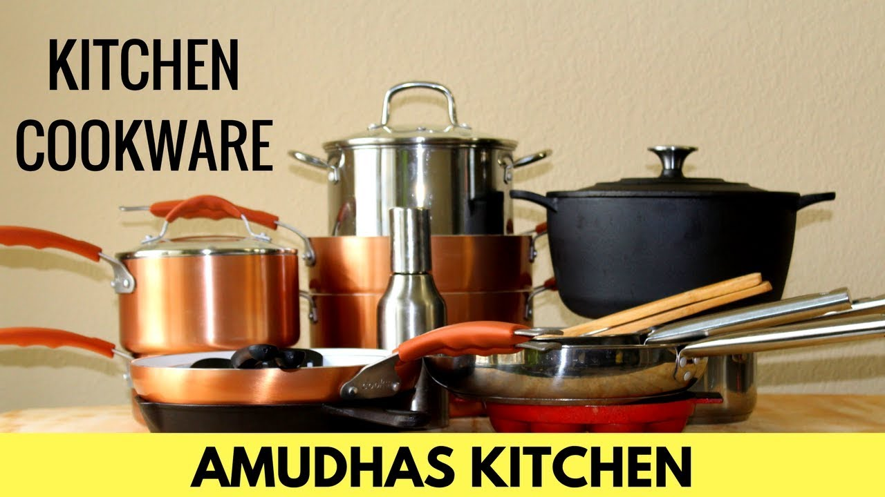 kitchen pot sets chandelier over island cookware collections what s in my tamil amudhas