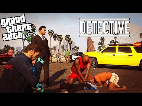 GTA 5 LSPDFR - Detective CSI - LPCallouts