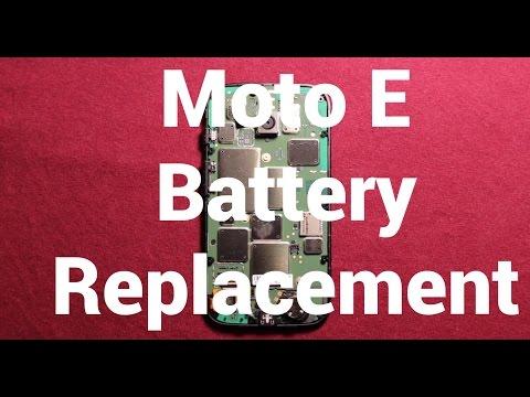 Motorola Moto E Battery Replacement How To Change