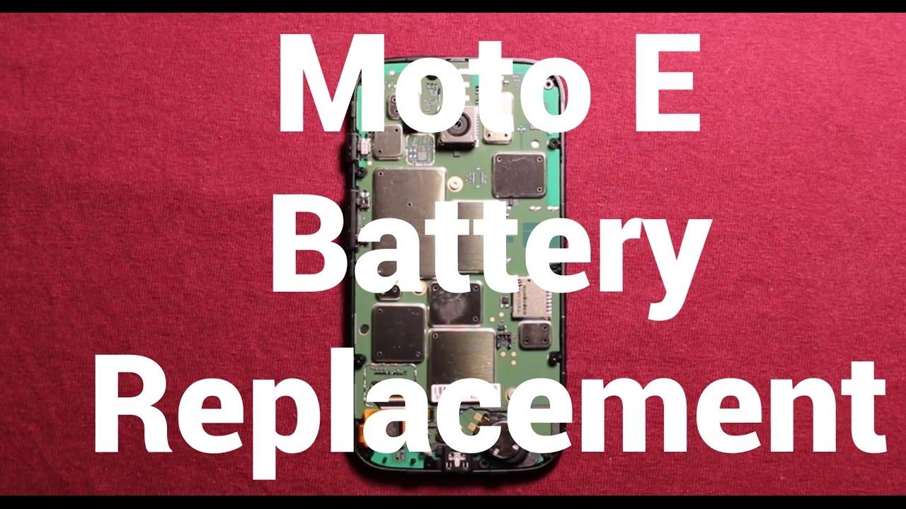 pretty nice 06ecd ad15c Motorola Moto E Battery Replacement How To Change