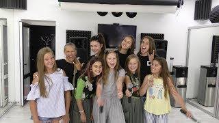Детское евровидение 2018 Беларусь - искрометные Doчas в гостях у группы Мята