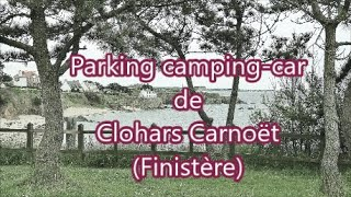 Parking de Clohars Carnoët Finistère