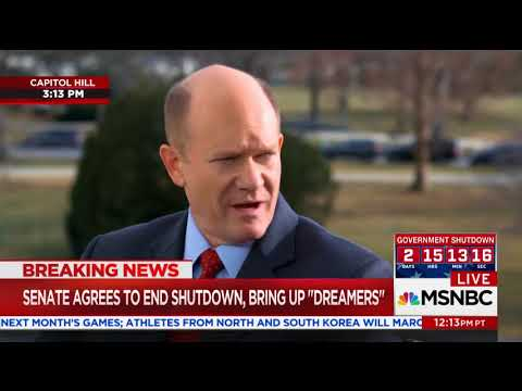 Dem. Sen. Chris Coons To 2020 Contenders: Moving To The Left Is Not The Best Way To Be A Leader