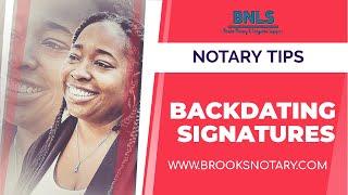 Backdating Signatures 😬