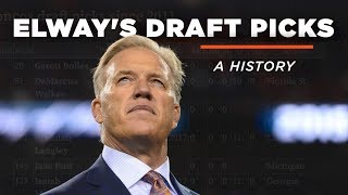 John Elway's 54 NFL Draft selections, a history