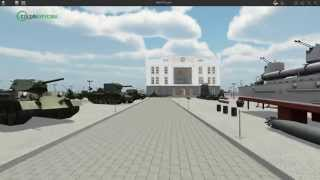 Разработка интерактивной 3D-презентации музея военной техники