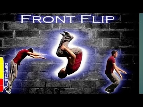 FRONT FLIP & BACK FLIP TUTORIAL || GYM TRAINING || PHYSICAL FITNESS thumbnail