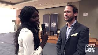 WORLD TOURISM FORUM ANGOLA 2019 - INTERVIEW with Erwan Garnier, Radisson Hotel Group