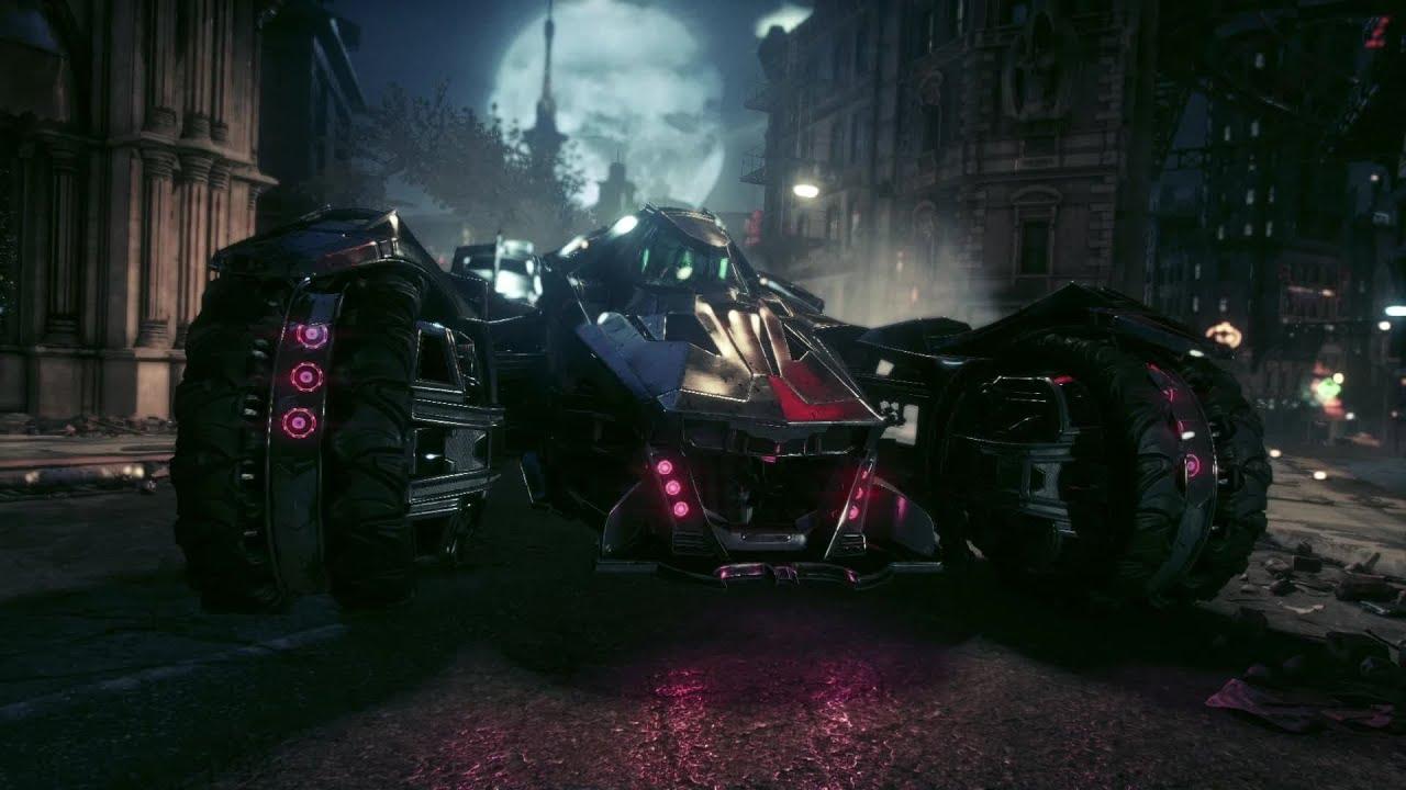Batman Arkham Knight Car Wallpaper Batman Arkham Knight Batmobile Battle Mode Trailer