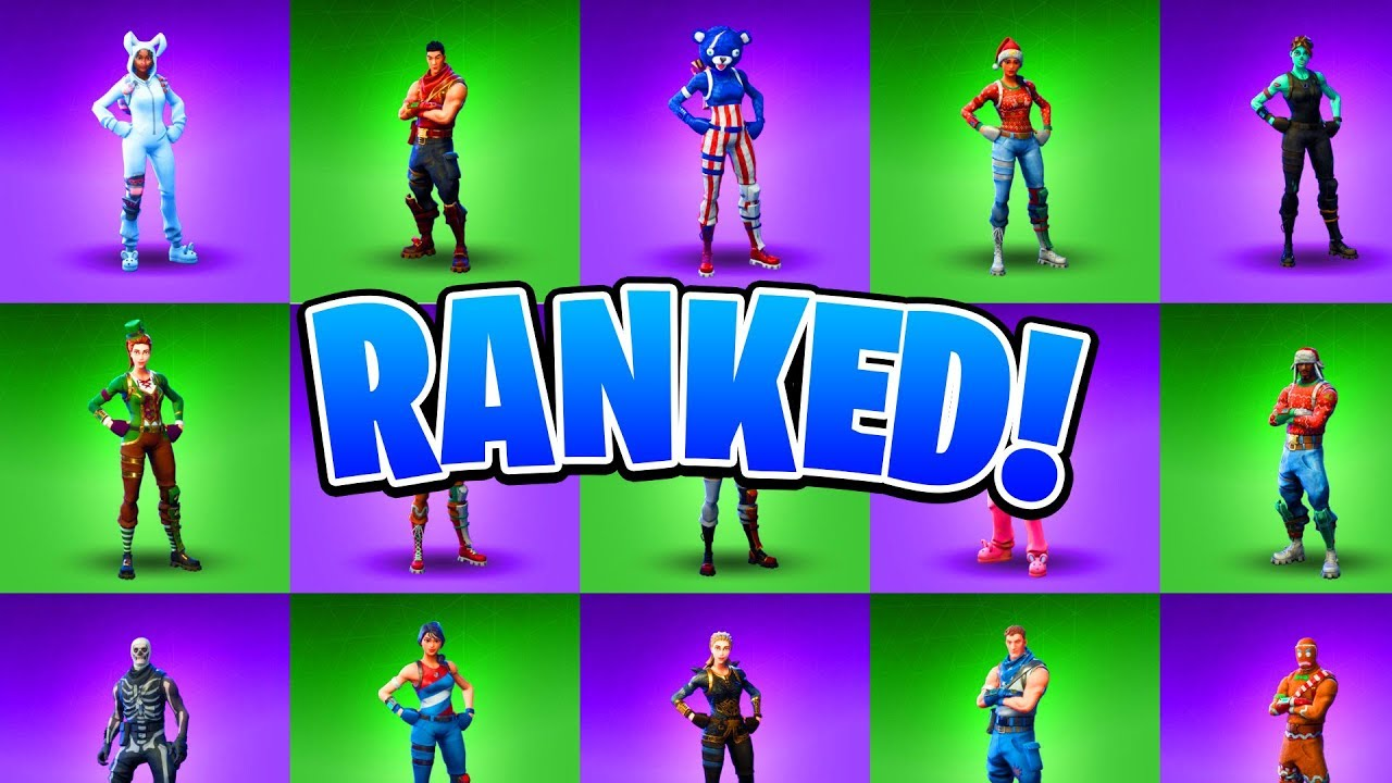 All Christmas Skins Fortnite.Ranking All Holiday Fortnite Skins Fortnite All Christmas Halloween Easter Skins Ranked