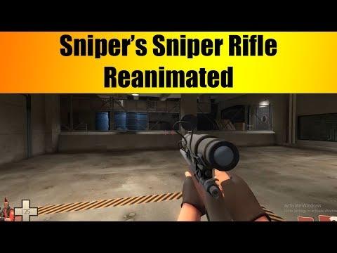TF2 Sniper's Sniper Rifle Reanimated