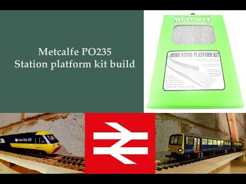 Metcalfe PO235 Stone station platform build