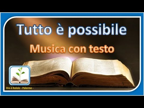 Everything is possible, Dario Urbano - music with text