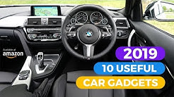 10 Useful Car Accessories You Can Buy On Amazon (2019)
