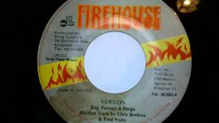 "Anthony Red Rose - No Touch the Nine + version 7"" Firehouse"
