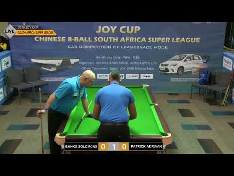 1st JOY Cup Chinese 8-Ball South Africa Super League (CESL) - Saturday Part 1