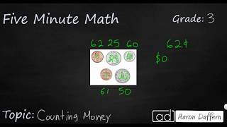 3rd Grade Math Counting Money
