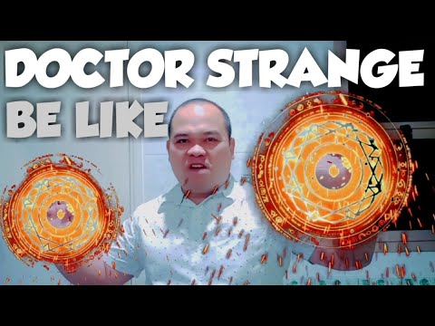 kinemaster Doctor strange power effects