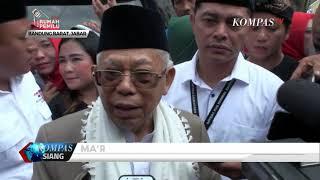 Download Video Ma'ruf Amin Yakin Raup Suara Terbanyak di Jabar MP3 3GP MP4
