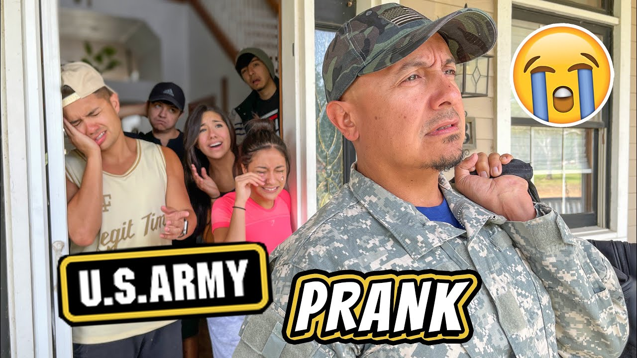 DAD GOING BACK TO ARMY PRANK ON KIDS **they cried** Sanchez Squad