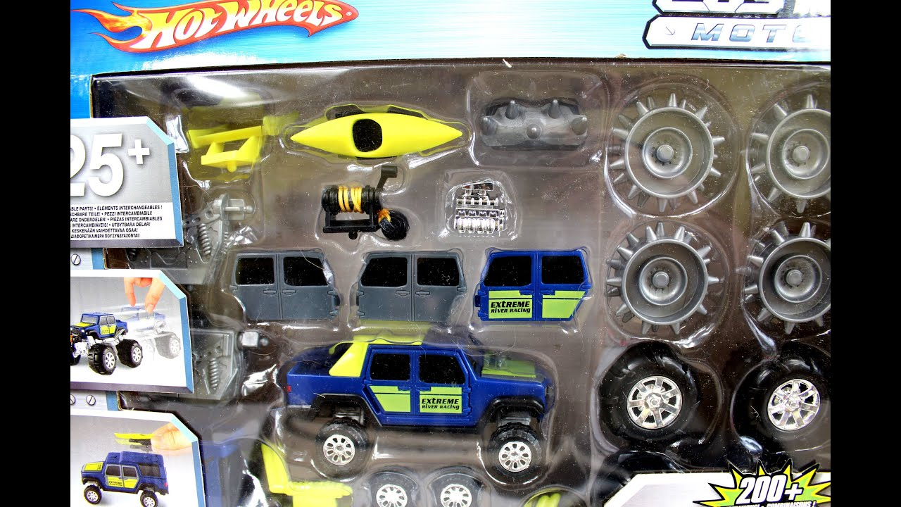 Custom Motors Power Set 4x4 Hot Wheels Mattel Love