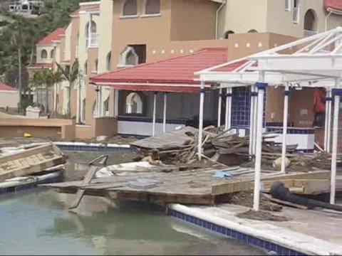Hurrican Omar SXM Belaie Divi Little Bay