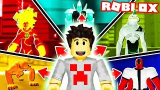 I TURNED BEN 10 dans ROBLOX!!