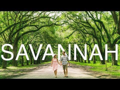 Savannah Georgia - Southern hospitality & Forrest Gump!