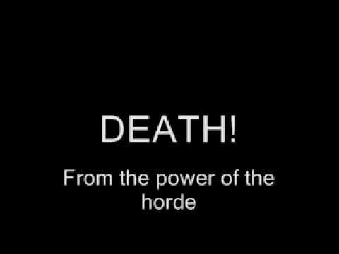 L70ETC - Power of the horde with lyrics