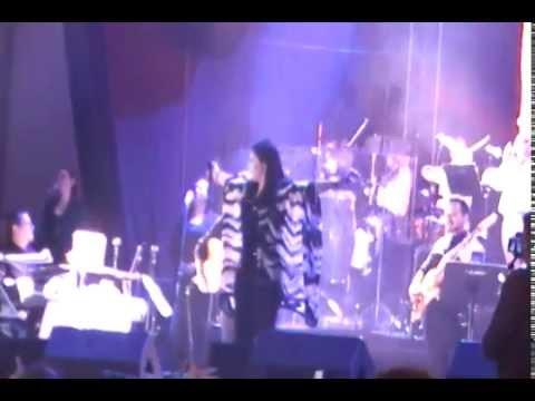 Ana Gabriel - Concierto Bogota D.C 2014 ( agua panelas carpa de evento )