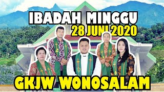 GKJW WONOSALAM | Pangibadah Minggu 28 Juni 2020 - Pdt. Yosua Anggi Hermanto, S.Si